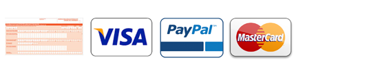 PayPal, Visa, Mastercard of Overschrijving